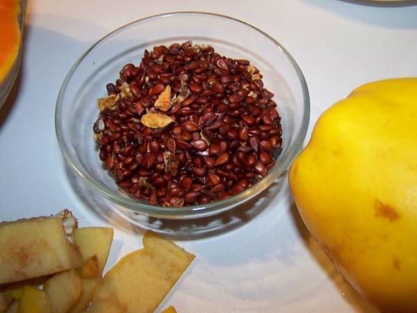 конфитюр из тыквы и айвы