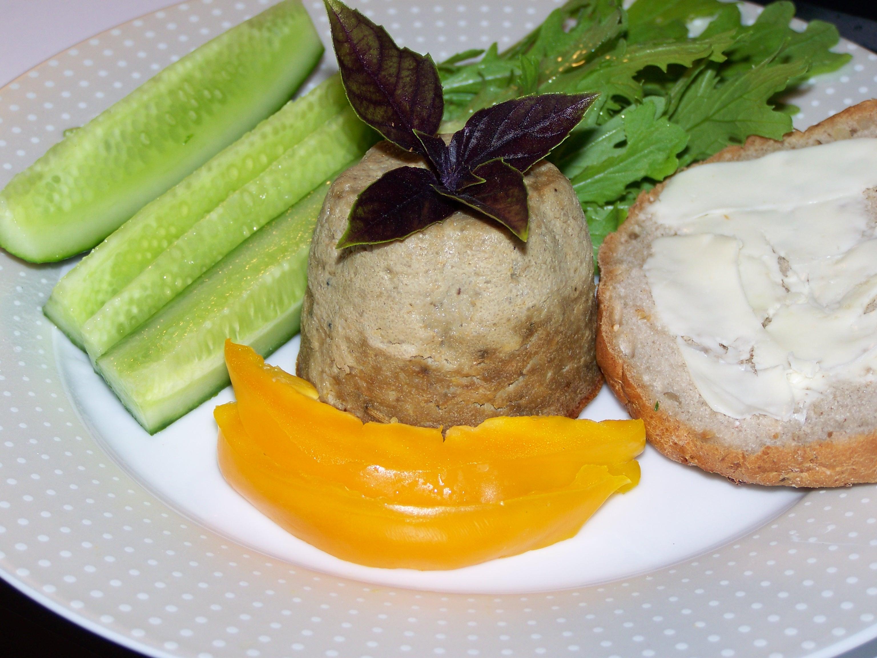 Суфле из печени и картофеля