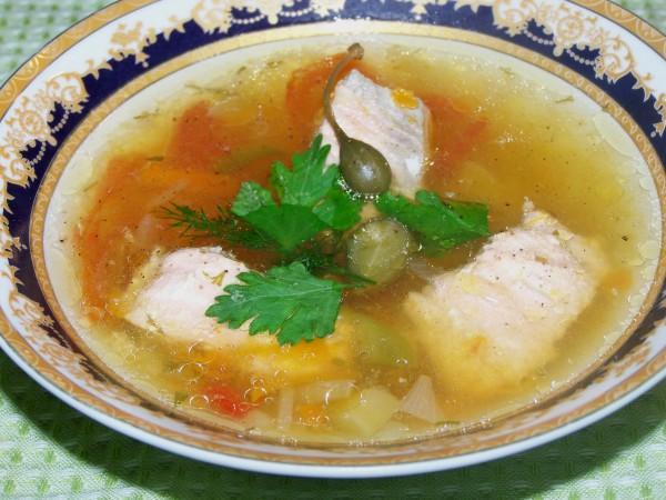Рыбный суп: простой рецепт